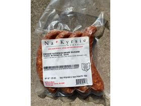 Na*Kyrsie Meats Slovenian Sausage, 4 links approx 1lb